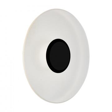 Настенный светодиодный светильник ST Luce Sotti SL925.401.01, IP65, LED 5W 4000K, черный, белый, металл, пластик