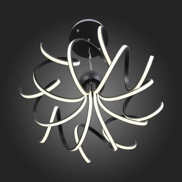 Подвесная светодиодная люстра ST Luce Fondere SL906.403.08, LED 120W, 4000K (дневной), черный, белый, металл, пластик - миниатюра 12