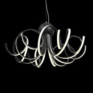 Подвесная светодиодная люстра ST Luce Fondere SL906.403.08, LED 120W 4000K (дневной) - миниатюра 4