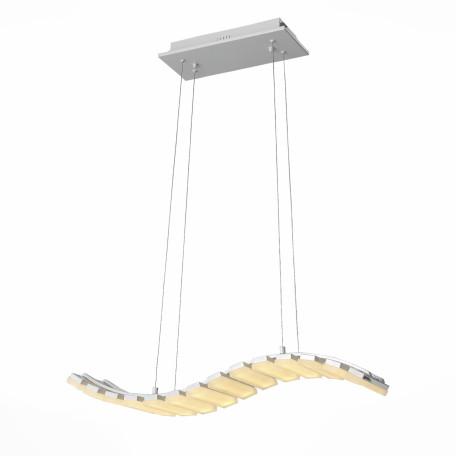 Подвесной светодиодный светильник с пультом ДУ ST Luce Scaletta SL910.503.14, LED 56W 3500K, белый, металл, пластик