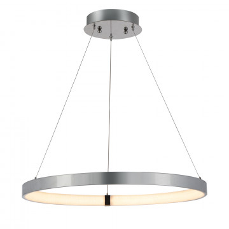 Подвесной светодиодный светильник ST Luce Facilita SL911.103.01, LED 24W 4000K, хром, металл, металл с пластиком