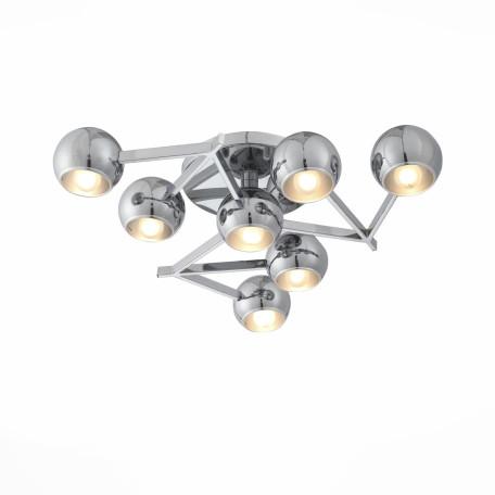Потолочная люстра ST Luce Rottura SL853.102.07, 7xE14x40W, хром, металл