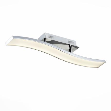 Потолочный светодиодный светильник ST Luce Fluidita SL919.102.01, LED 13W 4000K, хром, металл, металл с пластиком