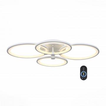 Потолочная светодиодная люстра с пультом ДУ ST Luce Twiddle SL867.502.04, LED 65W 3000-6000K