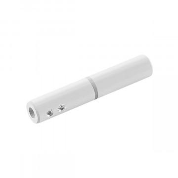 Изолирующий соединитель для тросового токопровода SLV TENSEO 186361, белый, металл с пластиком
