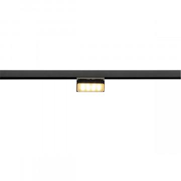 Светодиодный светильник для магнитной системы SLV M-TRACK, ADJUSTABLE LIGHT 188550, LED 3000K, черный
