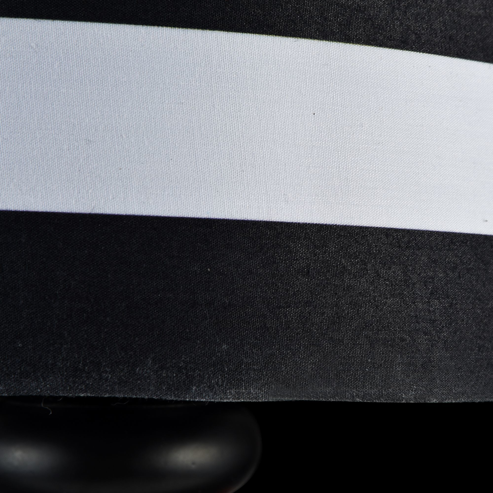 Бра Maytoni Modern Sailor MOD963-WL-01-B, 1xE14x40W, черный, черно-белый, металл, текстиль - фото 6