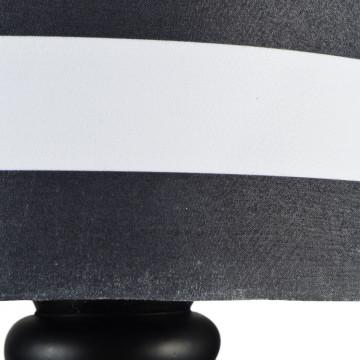 Бра Maytoni Modern Sailor MOD963-WL-01-B, 1xE14x40W, черный, черно-белый, металл, текстиль - миниатюра 7