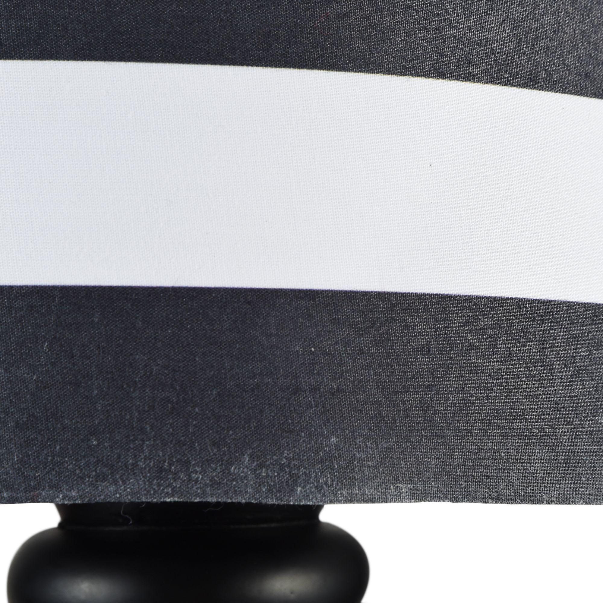 Бра Maytoni Modern Sailor MOD963-WL-01-B, 1xE14x40W, черный, черно-белый, металл, текстиль - фото 7