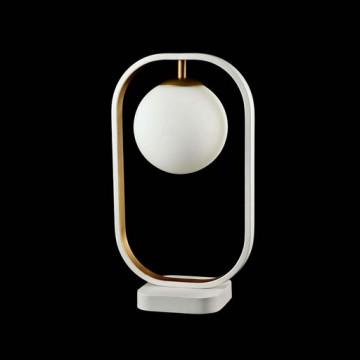 Настольная лампа Maytoni Avola MOD431-TL-01-WG, белый, металл, стекло - миниатюра 3