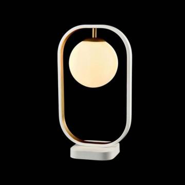 Настольная лампа Maytoni Avola MOD431-TL-01-WG, белый, металл, стекло - миниатюра 4