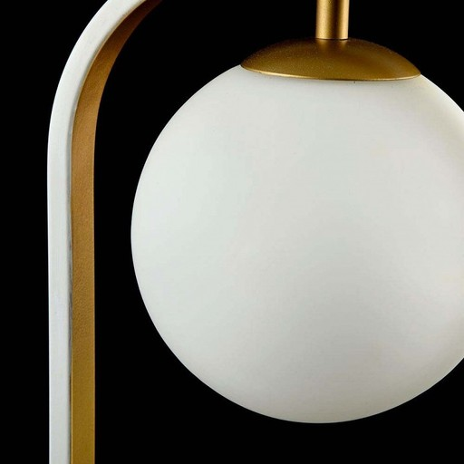 Настольная лампа Maytoni Avola MOD431-TL-01-WG, белый, металл, стекло - фото 5