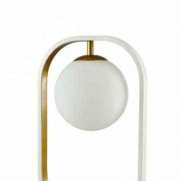 Настольная лампа Maytoni Avola MOD431-TL-01-WG, белый, металл, стекло - миниатюра 8