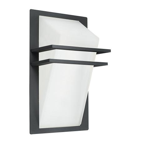 Настенный светильник Eglo Park 83433, IP44, 1xE27x60W, серый, белый, металл, стекло