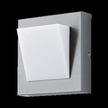 Настенный светодиодный светильник Eglo Calgary 1 94114, IP44, LED 3,7W 3000K 320lm, сталь, белый, металл, пластик