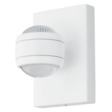 Настенный светодиодный светильник Eglo Sesimba 94849, IP44, LED 7,4W 3000K 1120lm, белый, металл, металл с пластиком