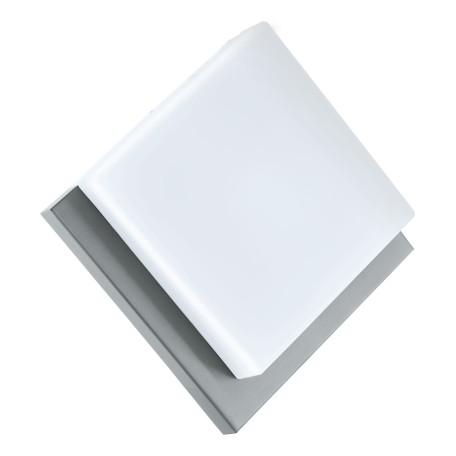 Настенный светодиодный светильник Eglo Infesto 1 94877, IP44, LED 8,2W 3000K 820lm, сталь, белый, металл, пластик