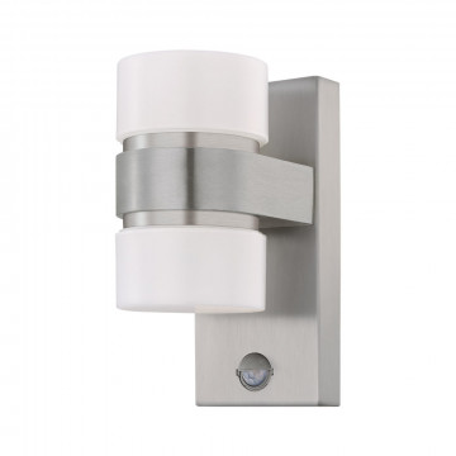 Настенный светодиодный светильник Eglo Atollari 96277, IP44, LED 12W 3000K 1000lm, сталь, белый, металл, пластик