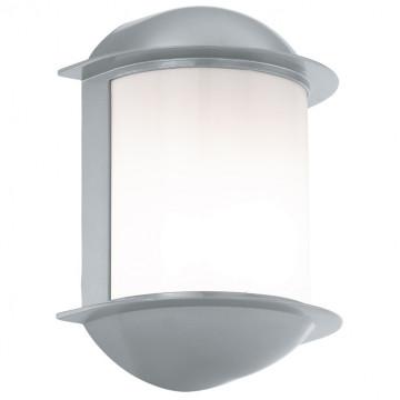 Настенный светодиодный светильник Eglo Isoba 96354, IP44, LED 6W, белый, серебро, металл, пластик