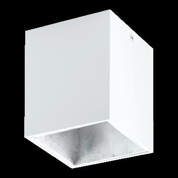 Потолочный светодиодный светильник Eglo Polasso 94499, LED 3,3W 3000K 340lm, белый, металл