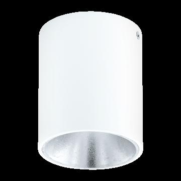Потолочный светодиодный светильник Eglo Polasso 94504, LED 3,3W 3000K 340lm, белый, металл