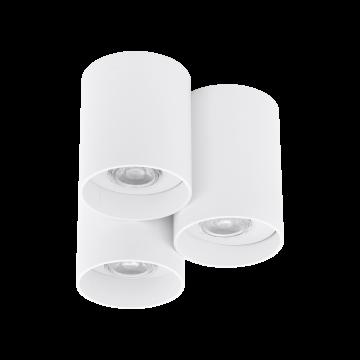 Потолочный светильник Eglo Lasana 94633, 3xGU10x3,3W, белый, металл