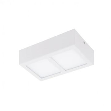 Потолочный светодиодный светильник Eglo Colegio 95201, 3000K (теплый), белый, металл, пластик