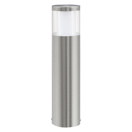 Садово-парковый светодиодный светильник Eglo Basalgo 1 94278, IP44, LED 3,7W 3000K 320lm, сталь, белый, прозрачный, металл, пластик