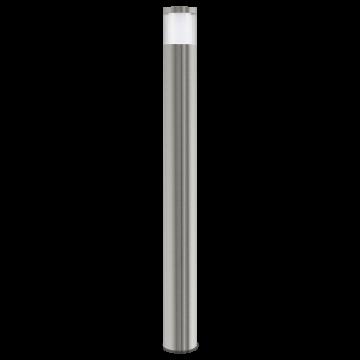 Уличный светодиодный фонарь Eglo Basalgo 1 94279, IP44, LED 3,7W 3000K 320lm, сталь, белый, прозрачный, металл, пластик