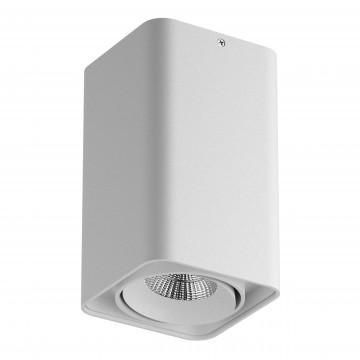 Потолочный светодиодный светильник Lightstar Monocco 052336, IP65, 3000K (теплый), белый, металл