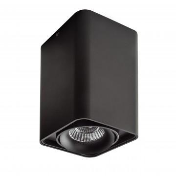 Потолочный светодиодный светильник Lightstar Monocco 052337, IP65, 3000K (теплый), черный, металл