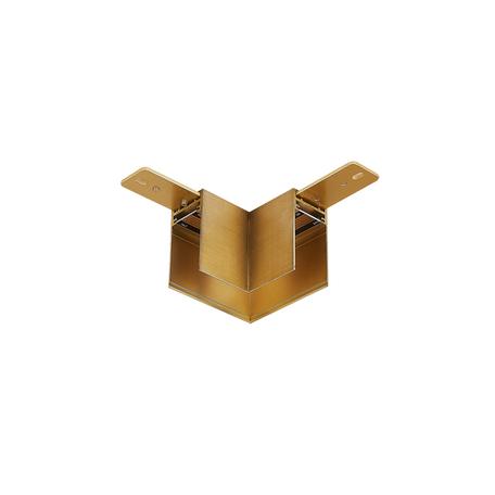 L-образный соединитель для магнитного шинопровода Donolux Magic Track L corner DLM/Black Bronze