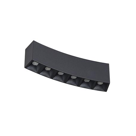 Светодиодный светильник для магнитной системы Donolux Eye DL18781/06MR Black