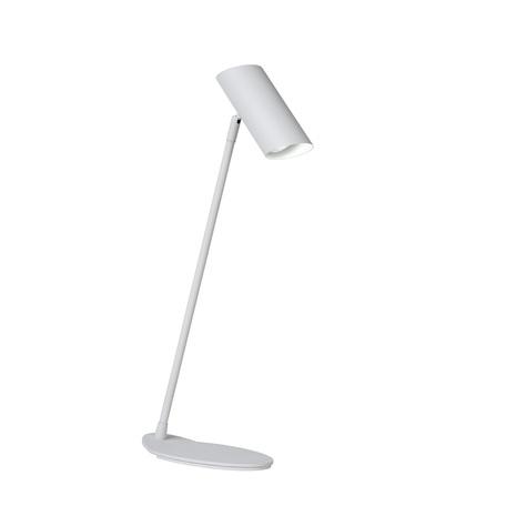 Настольная лампа Lucide Hester 19600/01/31, 1xGU10x7W, белый, металл