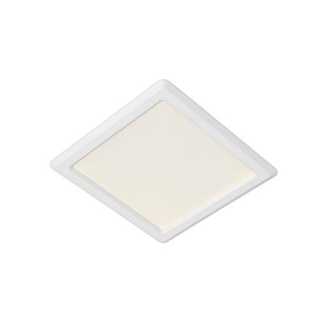 Встраиваемая светодиодная панель Lucide Tendo-LED 07903/09/99, LED 9W 3000K 810lm CRI80, белый, металл с пластиком, пластик