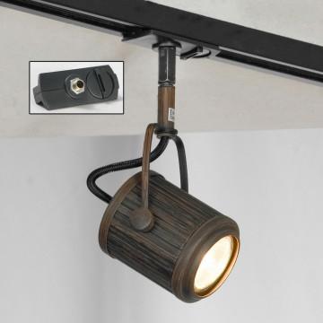 Светильник для шинной системы Lussole Loft Clifton LSP-9131-TAB