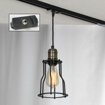 Подвесной светильник для шинной системы Lussole Loft Baldwin LSP-9610-TAB