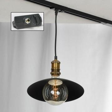 Подвесной светильник для шинной системы Lussole Loft Baldwin LSP-9670-TAB