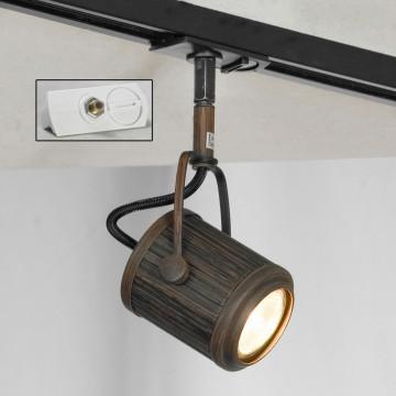 Светильник для шинной системы Lussole Loft Clifton LSP-9131-TAW