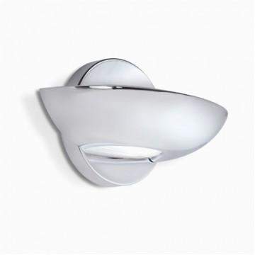 Настенный светильник Ideal Lux LUMINA AP2 CROMO 045092, 2xG9x40W, хром, металл, стекло