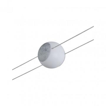 Светодиодный светильник для тросовой системы Paulmann Emma 94159, LED 4,5W, белый, серый, пластик