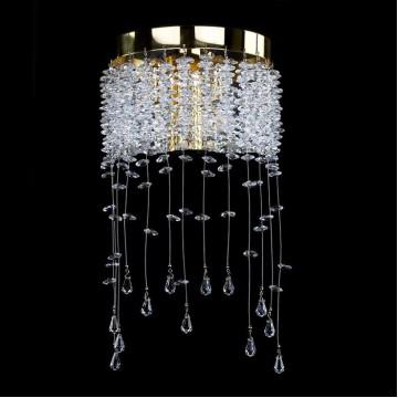 Бра Artglass MEDEA CE, 2xG9x40W, золото, прозрачный, металл, хрусталь Artglass Crystal Exclusive