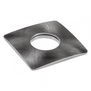 Декоративная рамка Lightstar Ipogeo 384025, никель, металл