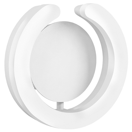Настенный светодиодный светильник Lightstar Unitario 763646, IP40, LED 9,2W 4000K 1012lm, белый, металл, пластик