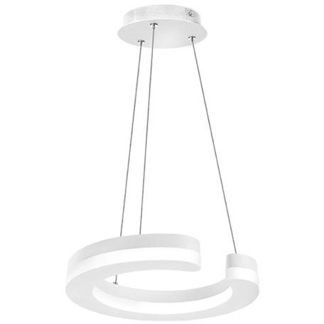 Подвесной светодиодный светильник Lightstar Unitario 763136, IP40, LED 11,5W 3000K 1265lm, белый, металл, металл с пластиком