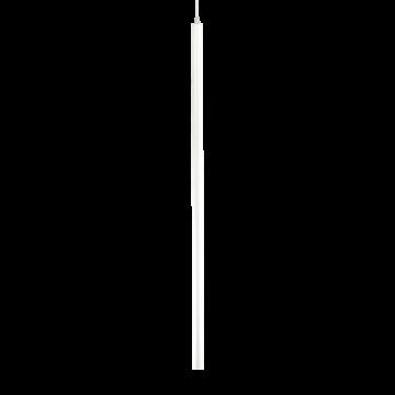 Подвесной светодиодный светильник Ideal Lux ULTRATHIN D100 ROUND BIANCO 142906 (ULTRATHIN SP1 BIG ROUND BIANCO), LED 12W 3000K 760lm, белый, металл
