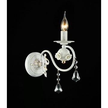 Бра Freya Faberge FR3218-WL-01-WG, белый с золотой патиной, прозрачный, керамика, металл, хрусталь - миниатюра 2