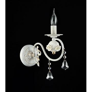 Бра Freya Faberge FR3218-WL-01-WG, белый с золотой патиной, прозрачный, керамика, металл, хрусталь - миниатюра 3