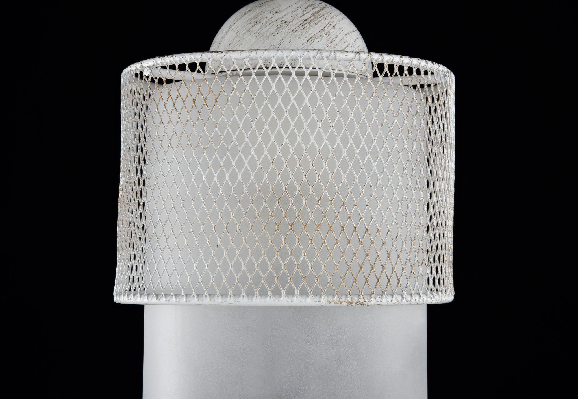 Подвесной светильник Freya Ornella FR2201-PL-01-WG (fr201-11-w), 1xE27x60W, белый, металл, металл со стеклом/пластиком - фото 5