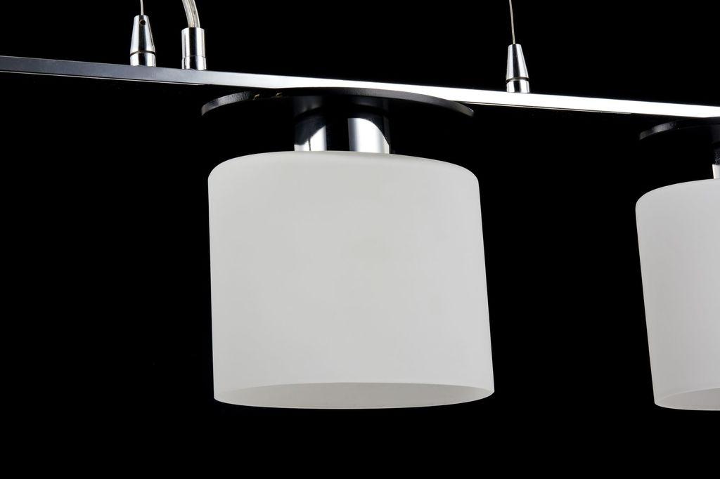 Подвесной светильник Freya Bice FR5101-PL-33-CN (fr101-33-n), 3xE14x40W, хром, черный, белый, металл, стекло - фото 7